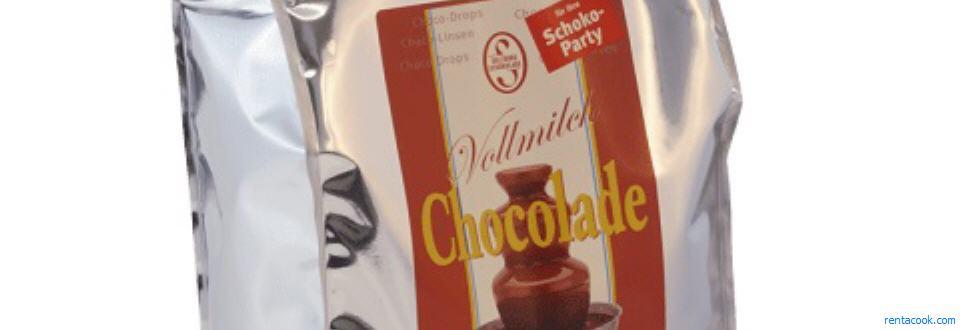 Schokobrunnen Snackpacket Mit Schokolade Und Verschiedenen Knabbereien